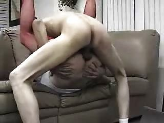 Tranny Takes Bf Bareback For Juicy Creampie 2
