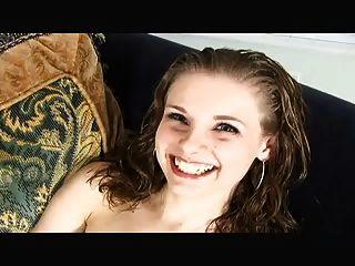 Laura orsolya dildoing in bathroom - 3 10