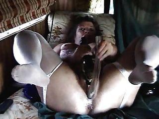 Mature Slut Home Alone Selftape.