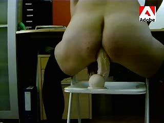 Tvs Crossdresser Stockings And Dildo Rambone