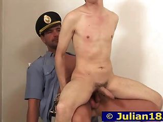 Julian And Policeman