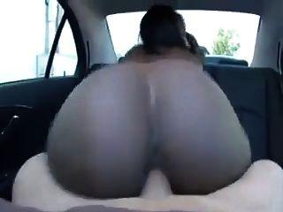 Creampie In The Car