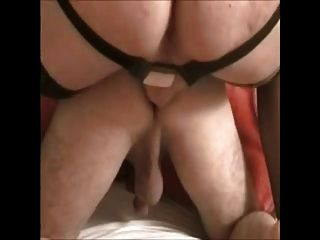 Amateur - Bisex Strapped By Wife While Sucking Cock