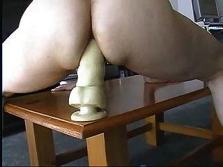 Table Dildo Fuck