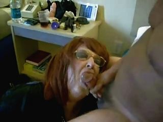 Horny Wife Eating My Cum. Home Made