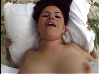 Natural Busty Chick Swallow Sperm In Hot Scene
