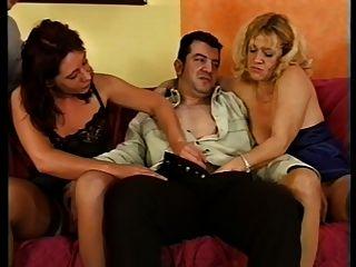 Bea Dumas & Her Slutty Friend Get Hot Before Taking 5 Cocks!