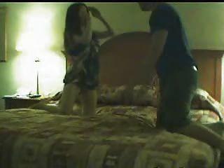 Nasty Bitch Caught On Camera Cheating On Husband