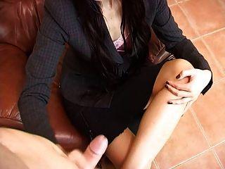 Delicia Deity Handjob And Footfetish
