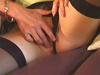 British Milf In Stockings Gets Fucked In A Classic Scene