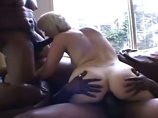 Claudia Downs Threesome