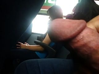 Flashing Failed In The Bus Whit Cum