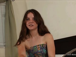 Nervous Audition For Hairy 18 Year Old Seah