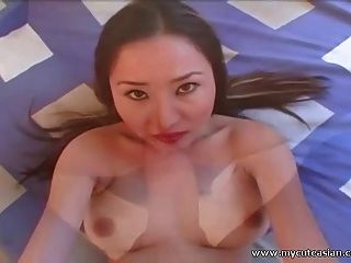 Busty Asian Amateur Babe Fucked And Facialized In Pov