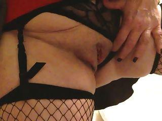 Sexy Granny Big Tits Masterbates Squirts And Cums