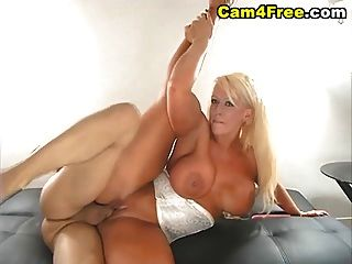 Huge Rack Blonde Fucked Hard Hd