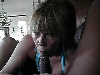 Granny On Black Cock...