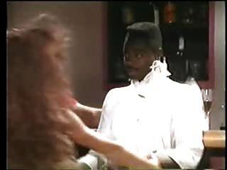 Sexy Brunette Stripper Wants Black Guy - Vintage Interracial