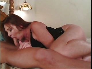 Mature Slut Sucks And Fucks Young Boy