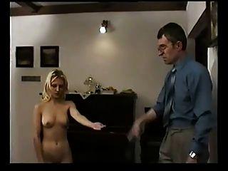 Szeck Blonde Hard Spanked By Teacher