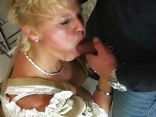 Dirndl fick schlampe mit busty fat boobs and cumshot