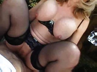 Amazing Strawberry Blonde Mature Fell In Love With Cock