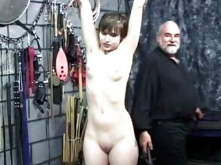 Short-haired Girl Gets Spanked - Part 2