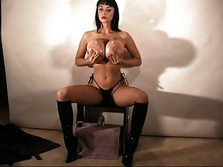 Mistress fucks her slave and then makes him eat his own cum 1