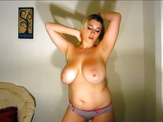 Primecups melon sized breasts get tit fucked and creamed on 4