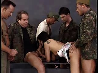 German Slut Gangbanged 01