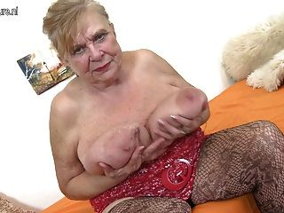 Granny Very Old Granny With Very Big Boobs