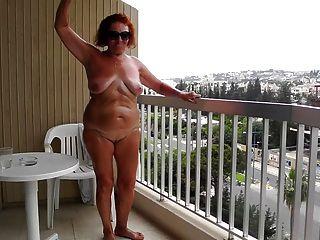 The Public Exposure On The Balcony