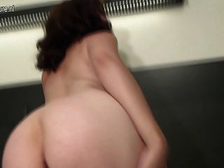 Amateur Mom Loves Her Dildo And Shows Off Her Dancing Skills