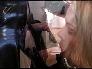 Girl Blowjob In Latex Iii