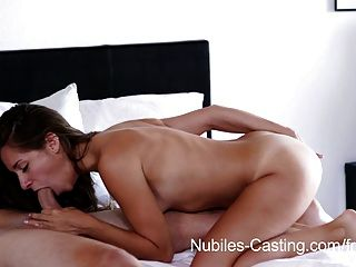 Nubiles Casting - Tiny Tit Babe Tries Out For Porn Hardcore