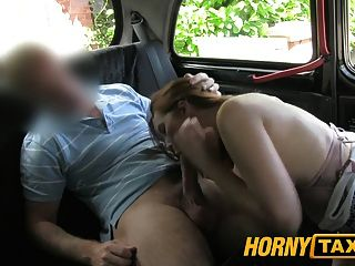 Hornytaxi Young Girl With Big Tits Offers Blowjob Instead