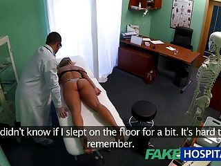 Fakehospital Dizzy Young Blonde Takes A Creampie And Starts