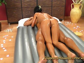 Slippery Nuru Massage With Happy End
