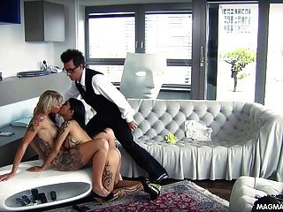 Magma Film And Busty Blonde German Babe Get Fucked