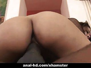 Asian Babe Takes Black Cock Up Her Ass In Anal Fun