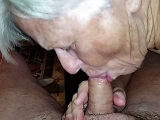 Granny Sucking My Cock