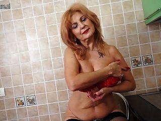 65yo granny still hungry for a good fuck 7