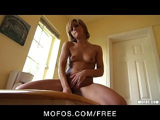 Mofos - Cute Blonde Caprice Loves To Fuck Her Sex-toy