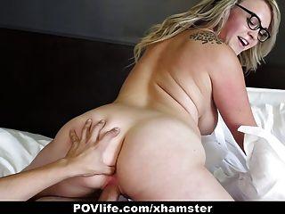 Povlife - Sunny Hart Gets A Sticky Facial
