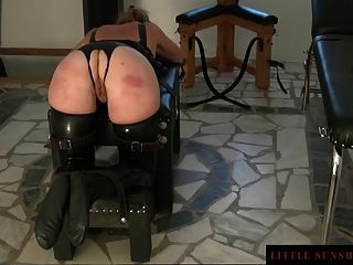 Tied-spanking-butt Plug-orgasm - Little Sunshine Milf