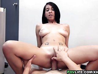 Povlife After Doing Carpark Nudity, Skinny Mia Hurley Fucked