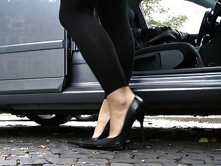 Ultimate Leather Heels Stilettos Shoes Cuir Leder 3