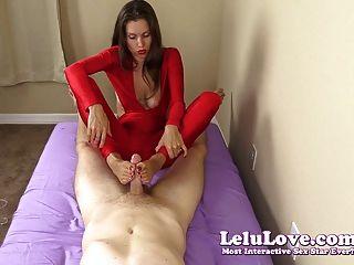 Lelu Love-cfnm Handjob Footjob Cumshot