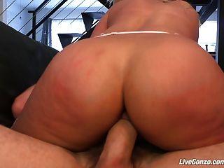 Livegonzo Bridgette B Busty Babe Enjoying Sex