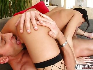 This Cutie Gets His Creampie And Her Ass Pounded